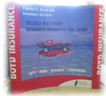 Boyd Insurance Tradeshow Booth