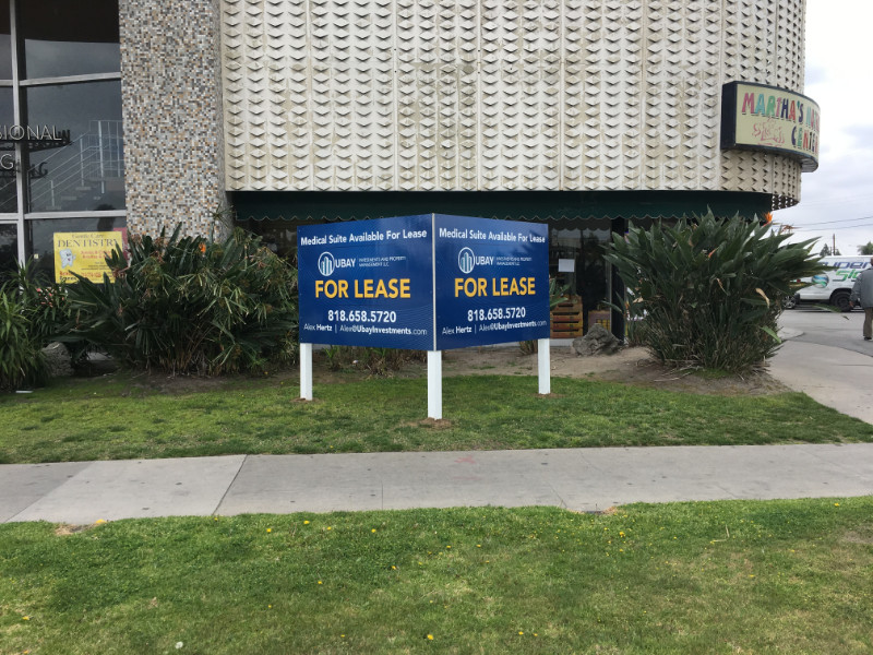 For Lease Signs for Property Management Companies Orange County