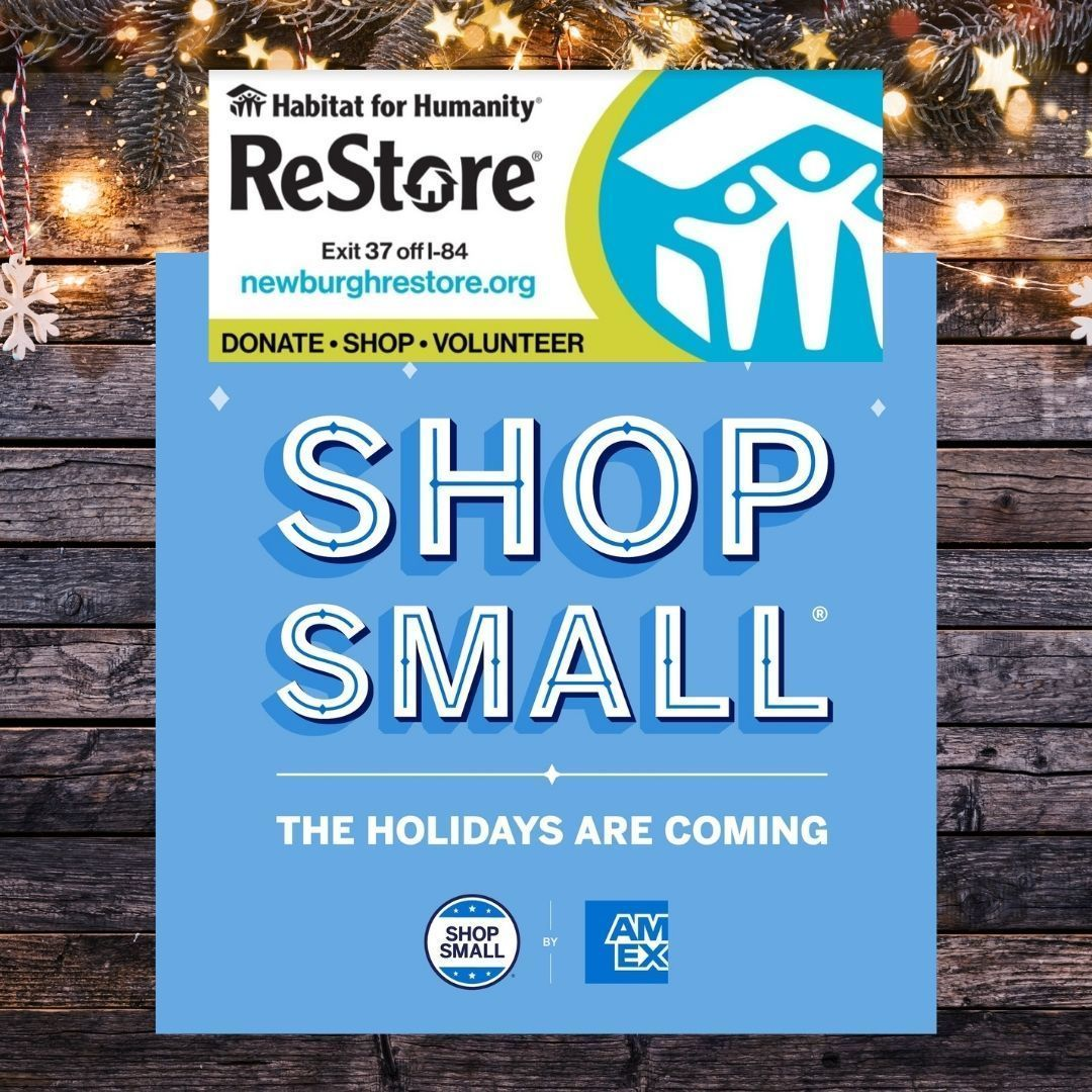 Save the date! #shopsmallsaturday Nov. 28th!