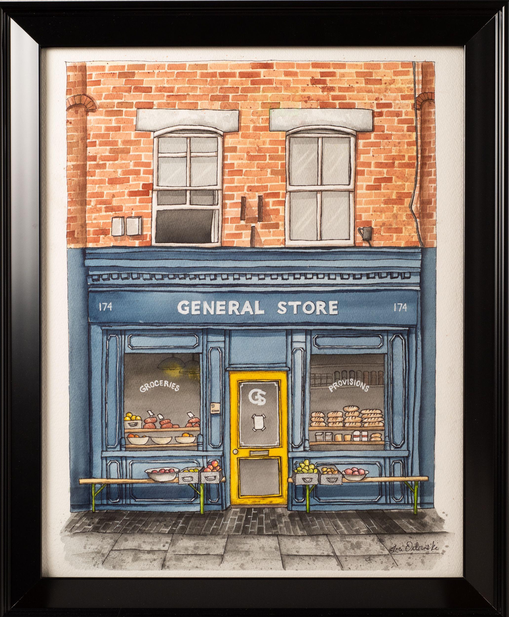 """General Store"" - Lori Orlowski"