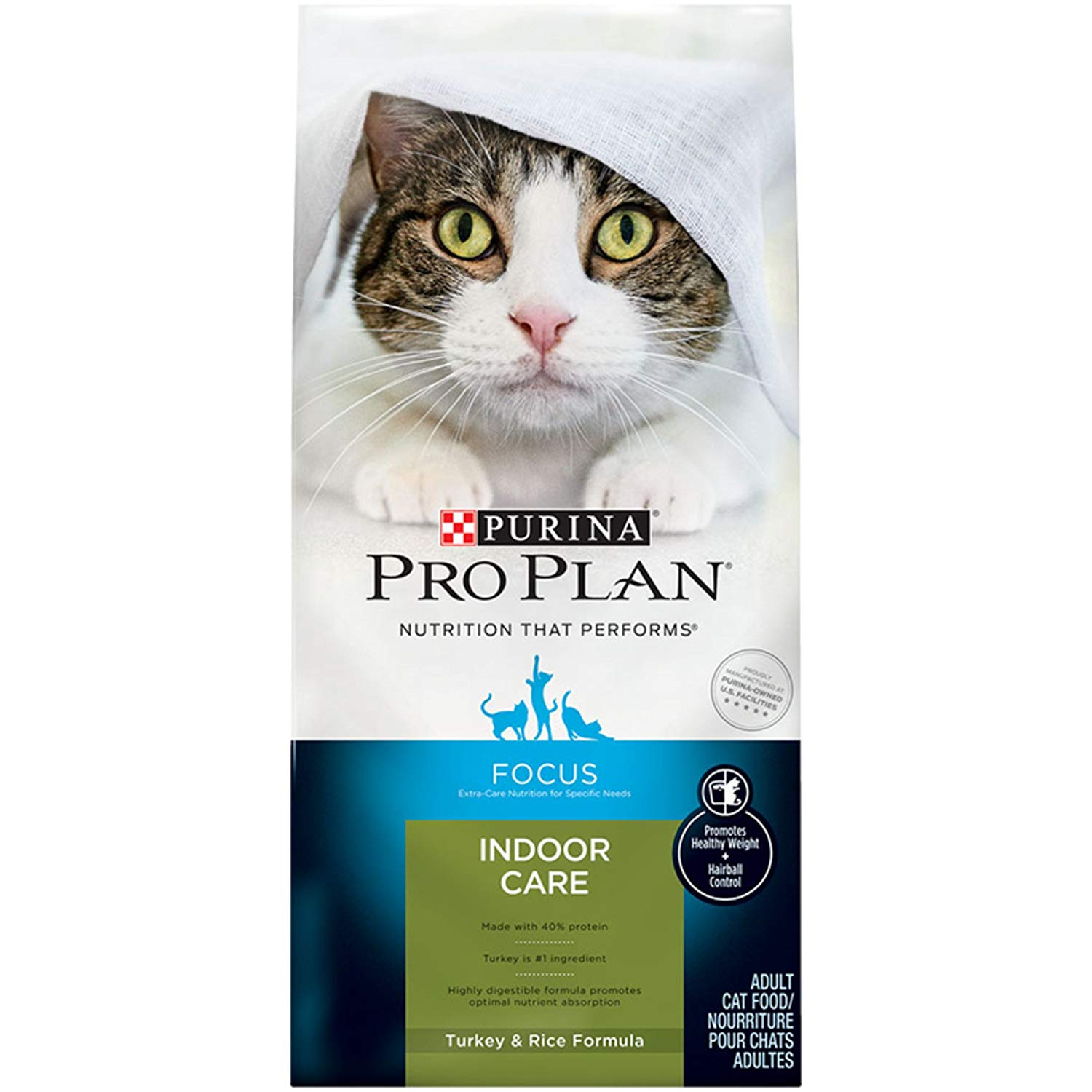 Purina Pro Plan Indoor Care Adult Dry Cat Food