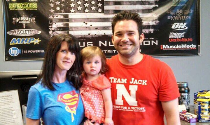 Thank you, Ginger Paulter, for sharing this #superduperawesome picture with us!! ;) Go Team Jack! Go Sammy's Superheroes!