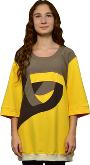 Dress T-Shirt 3/4 Sleeve Goldenrod