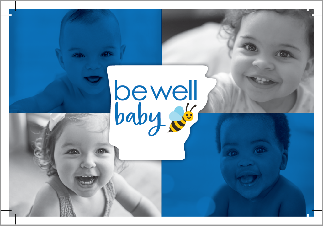 Be Well Baby Postcard