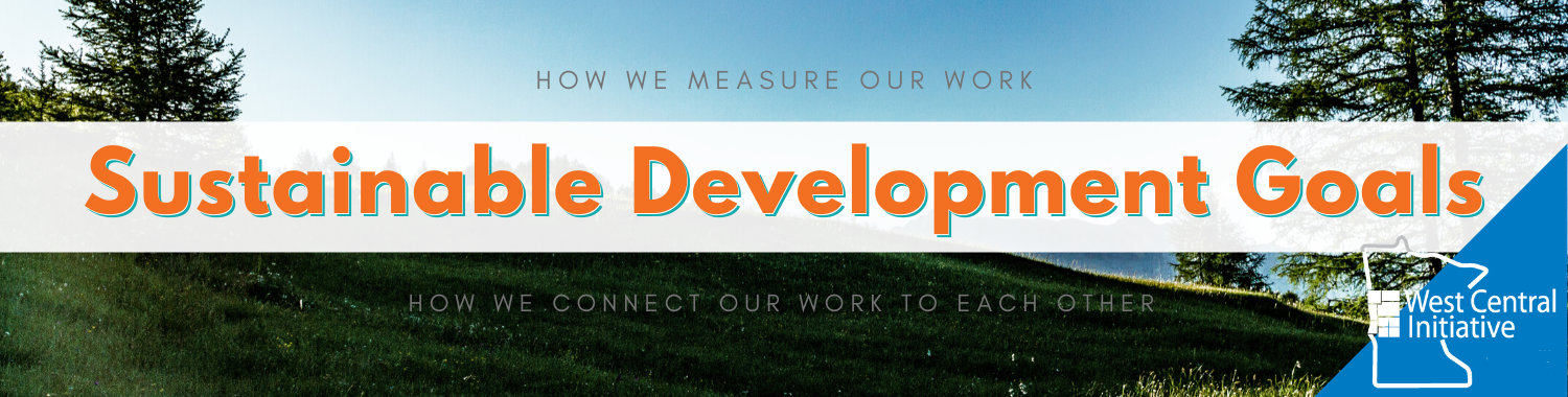 Sustainable Development Goals: how we measure our work, how we connect our work to each other