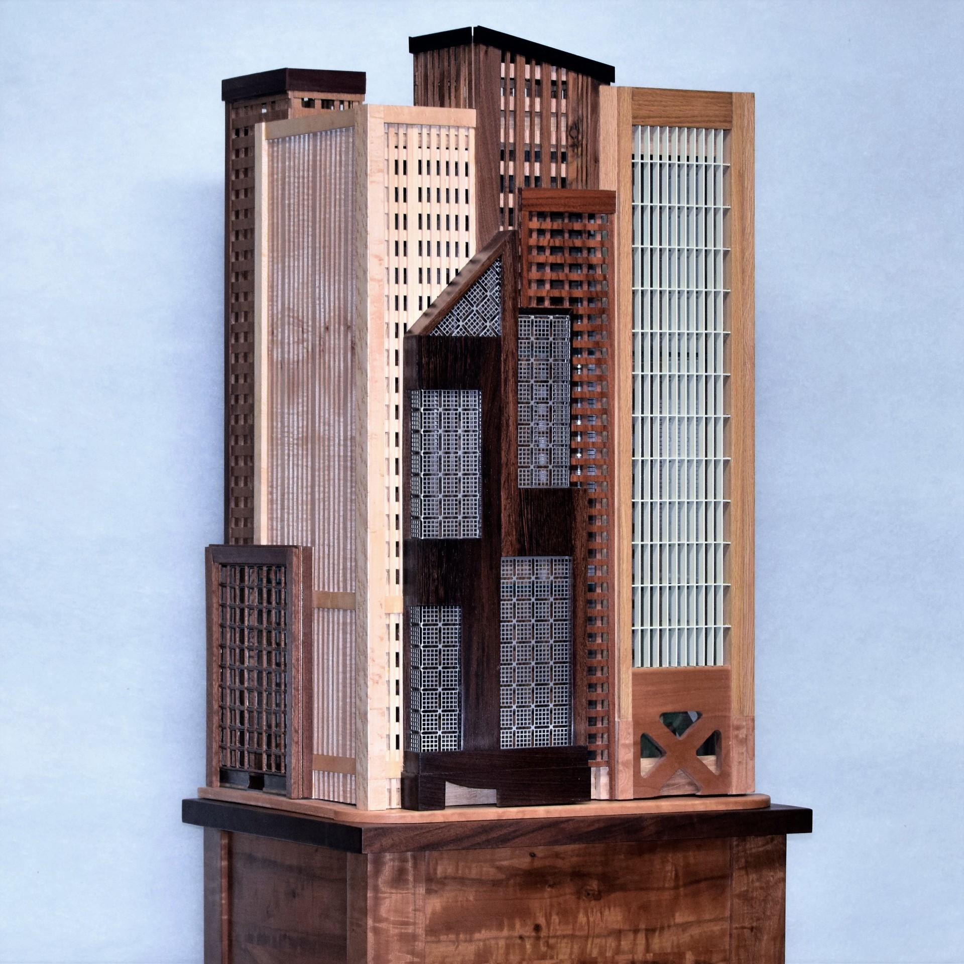 Cityscape cabinet 1