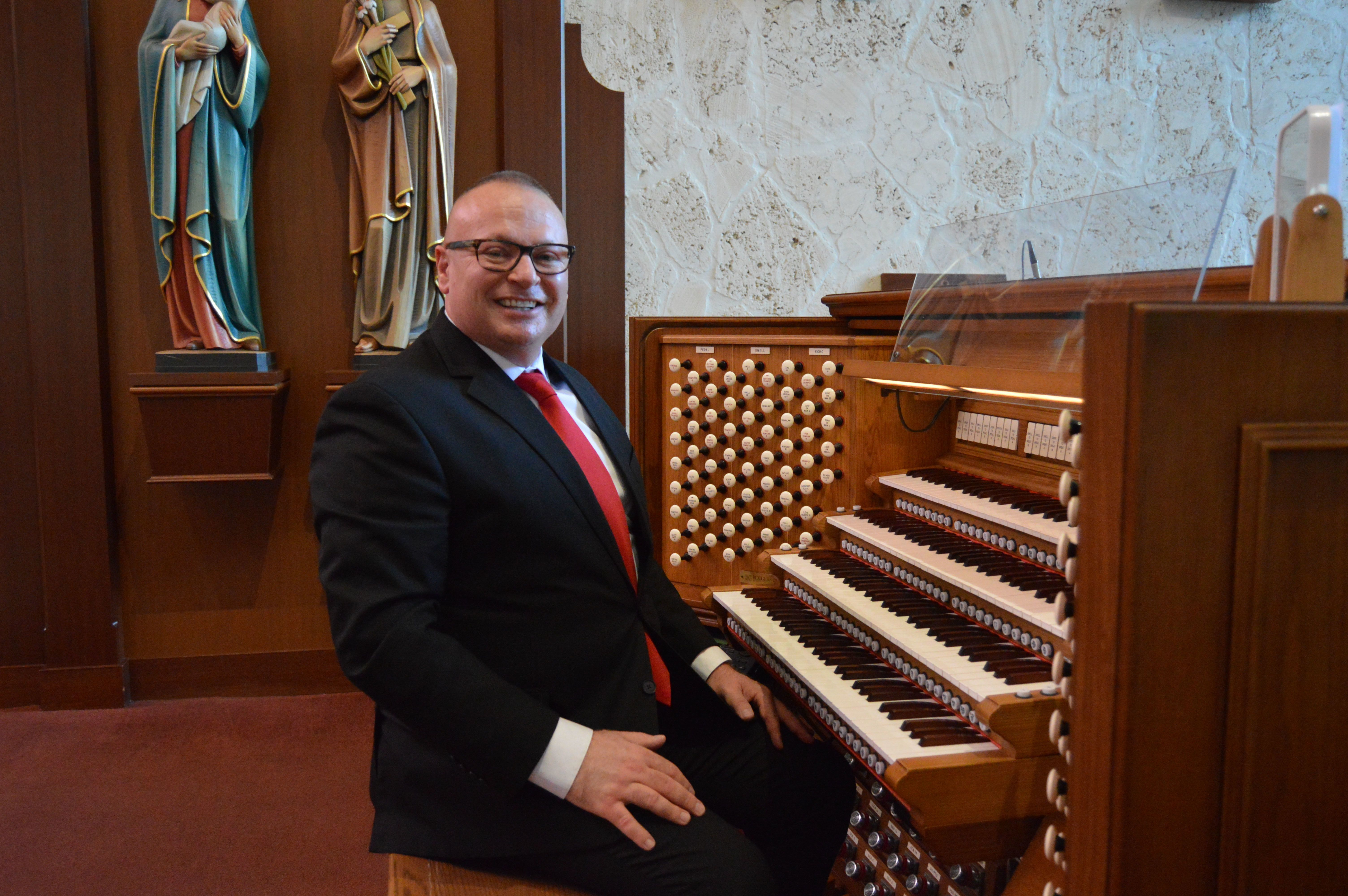Cathedral welcomes new director of music