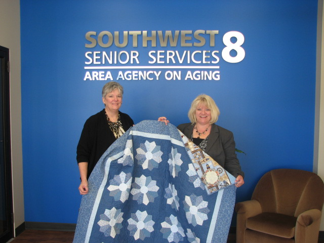 Our First Quilt Raffle Has a Winner!