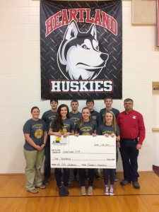 Farmers Cooperative Donates $3000 to Local FFA Chapter Grants