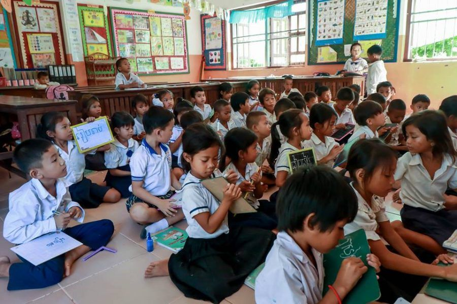 Kindergarten comes to Cambodia