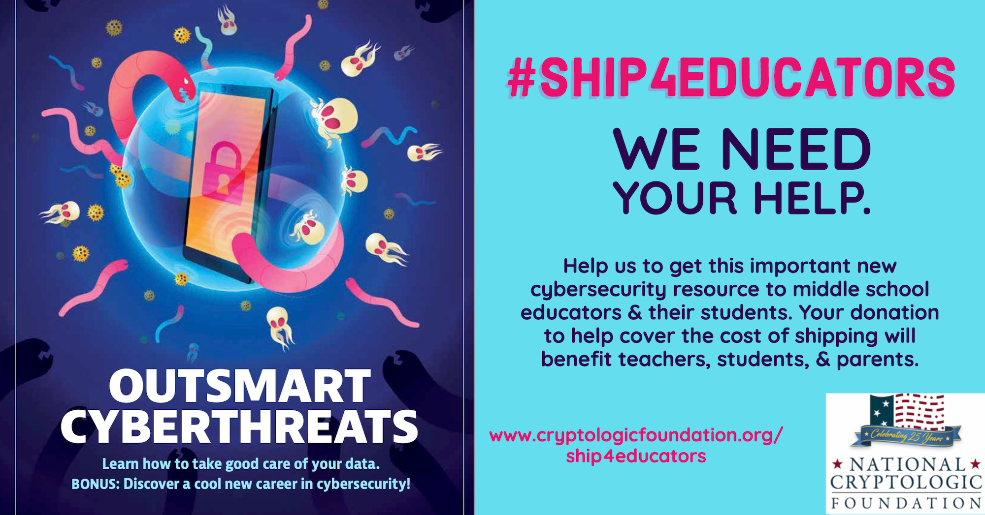 Shipping for Educators - Donate now