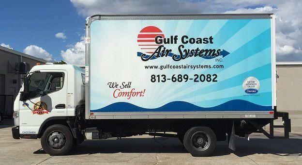 Fuso Box Truck Wrap