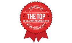#1 in the Nation of Similar Size Education Foundations