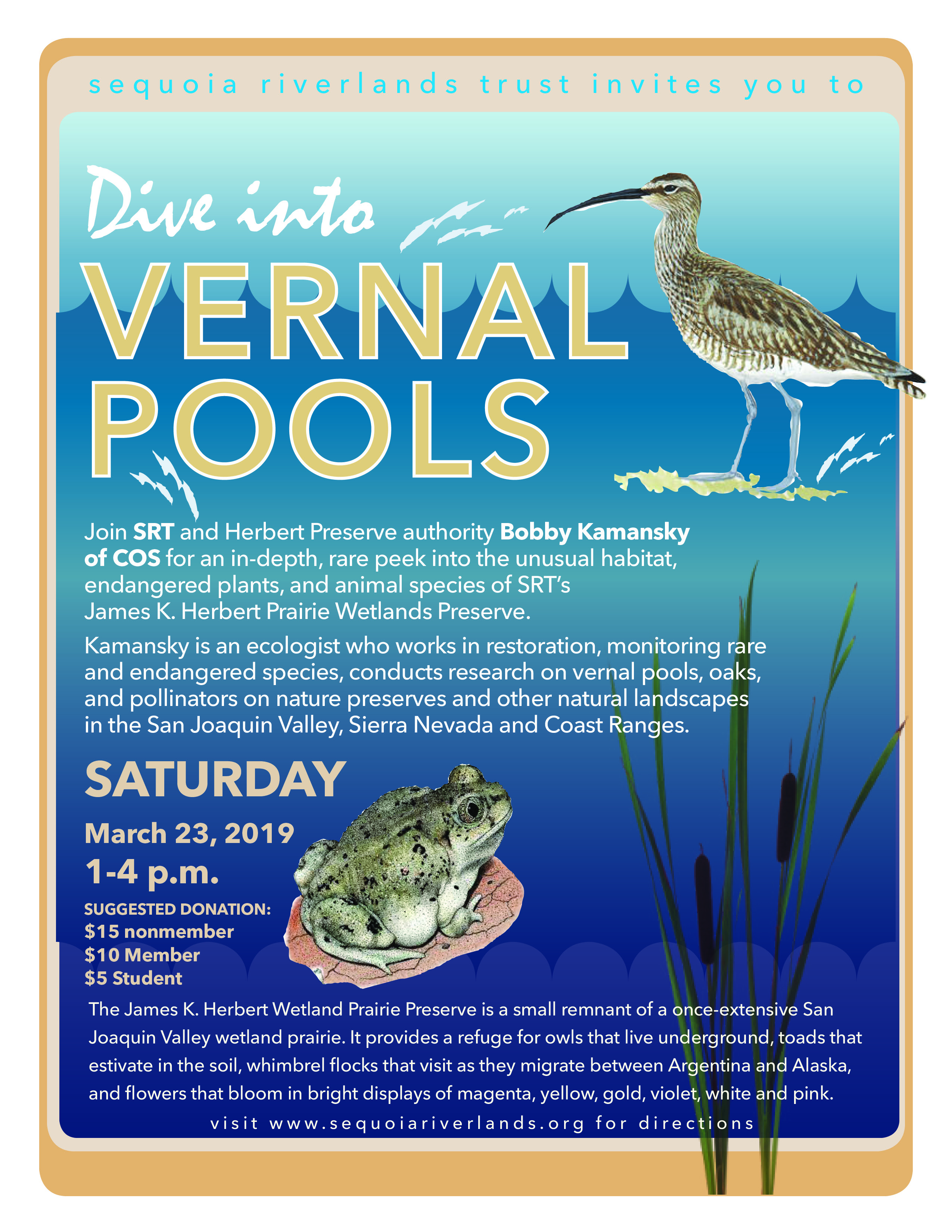 VERNAL POOLS: Herbert Preserve Walk happening March 23