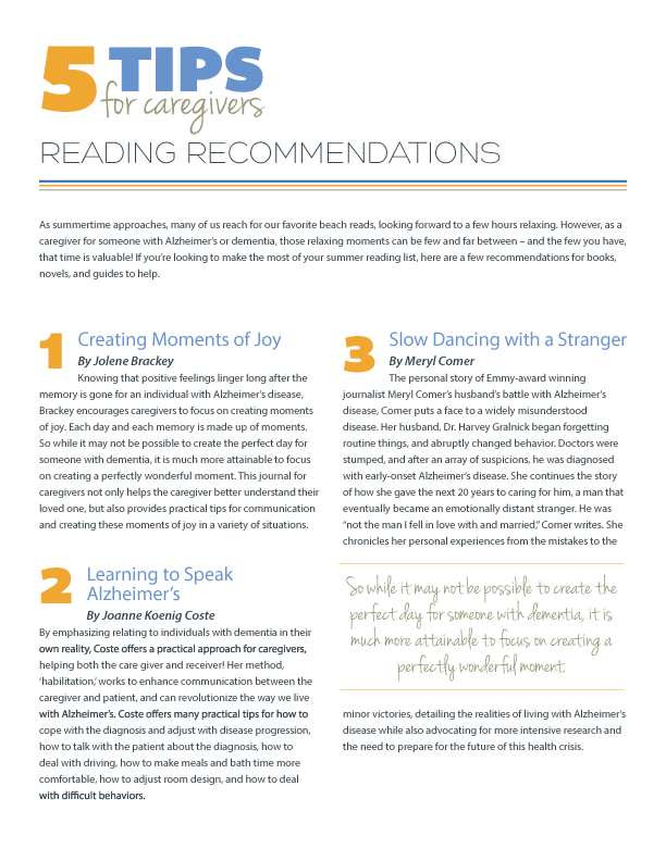 5 Tips for What to Read