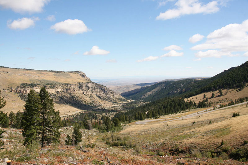 Sinks Canyon State Park : Activities : Scenic Drives : The Loop Road