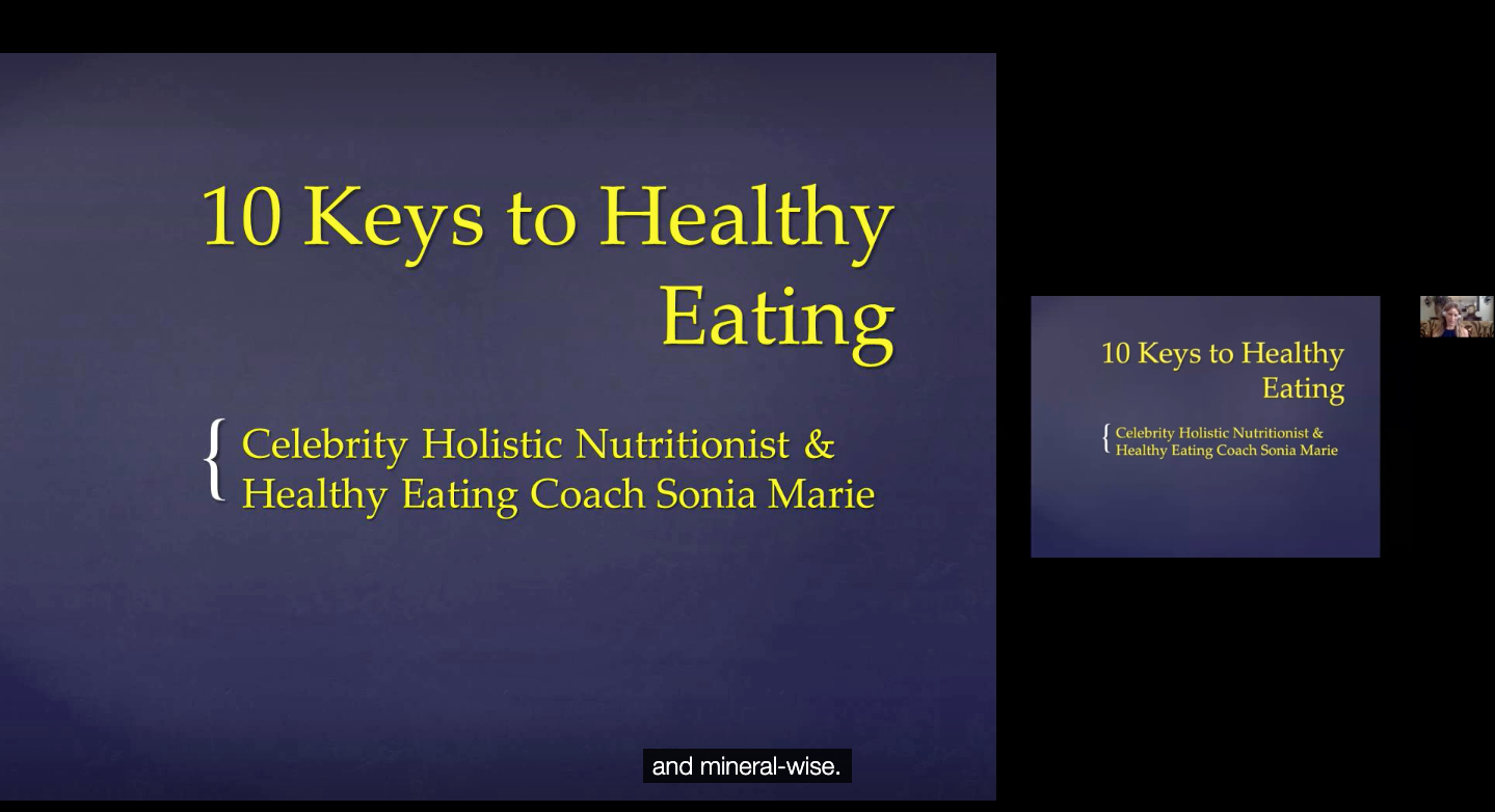 10 Keys to Healthy Eating for Usher Syndrome