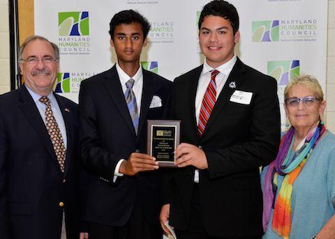 2015 Milt Zaslow Cryptology Award for MD History Day - Senior Level