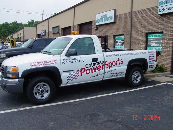 Coleman Powersports Truck Graphics