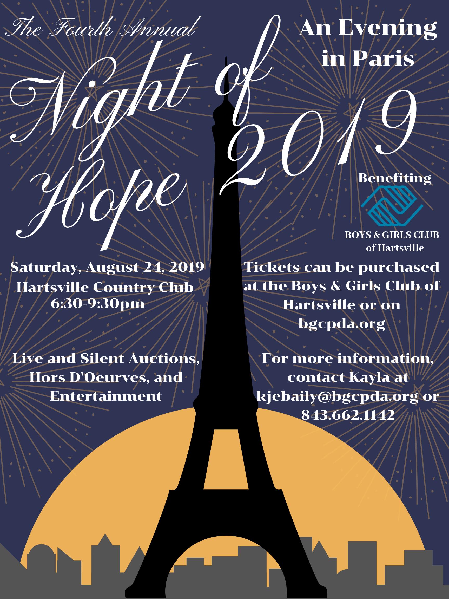 Night of Hope in Hartsville