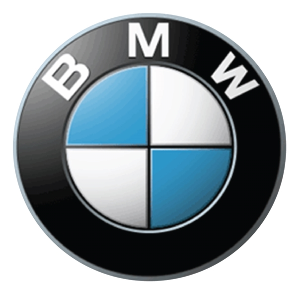 Z35324 -  Carved  Wall Plaque of the Emblem/Logo for the BMW Corporation.