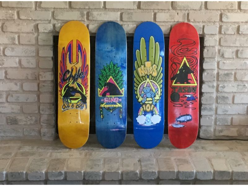 Skateboard Decals