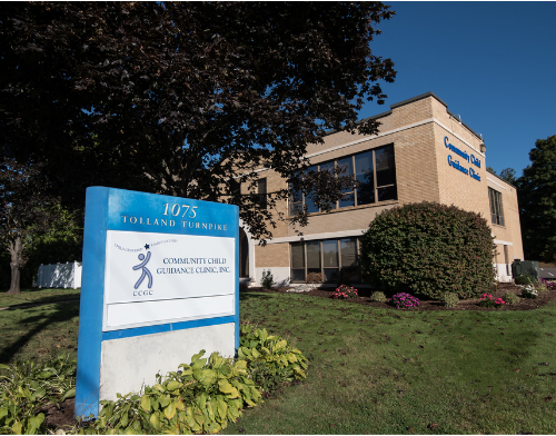 Community Child Guidance Clinic current building at 1075 Tolland Turnpike