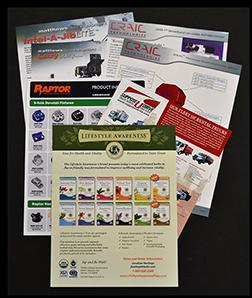 Sales Sheets & Kits
