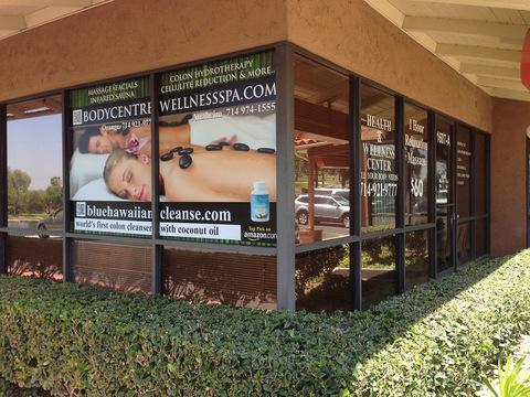 Translucent window graphics Orange County