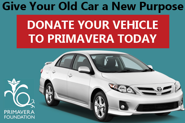 Primavera Seeks Vehicle Donation