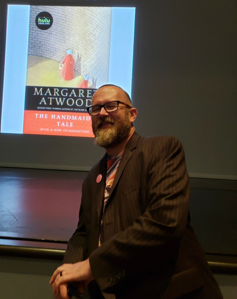 "Pre-Show Lecture by Prof. Jonathan Alexander  ""Practicing the Future: Margaret Atwood's Work in Text and on Screen"""