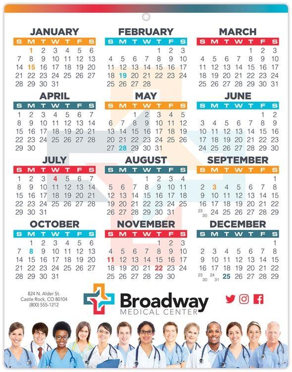 Single Sheet Calendars