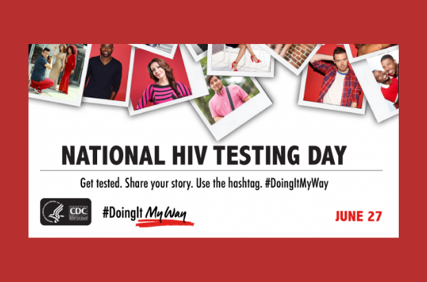 June 27 is National HIV Testing Day!