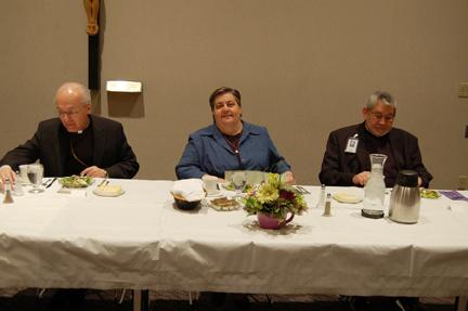 The Most Reverend David D. Kagan Makes Pastoral Visit to St. Alexius Medical Center