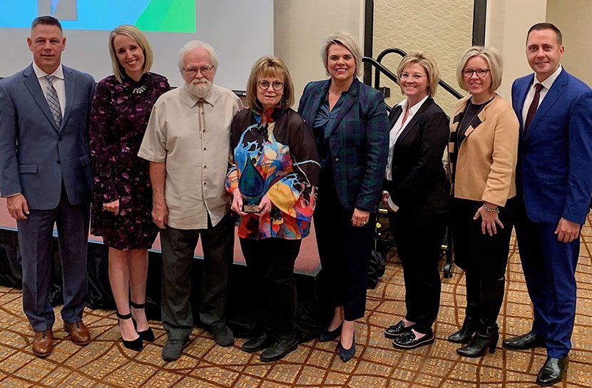 Joyce & Jim Ebmeier and Tabitha leaders