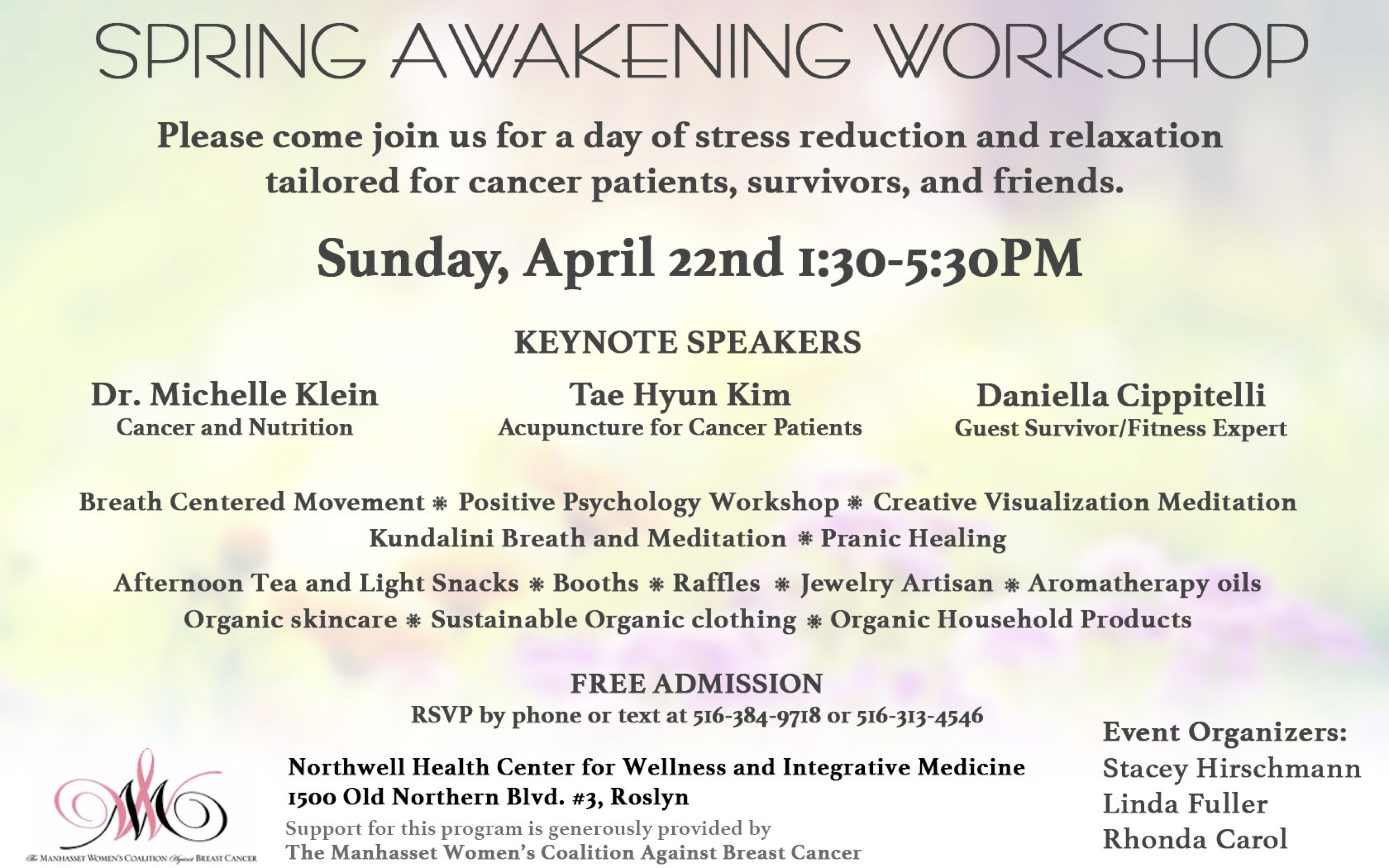 Spring Awakening Workshop