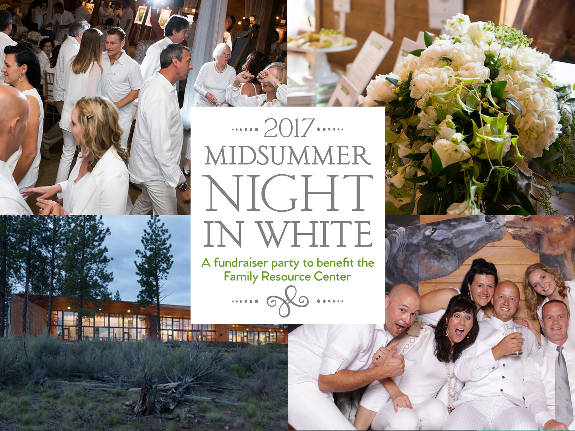 Tickets are on sale for our Midsummer Night in White Fundraiser!