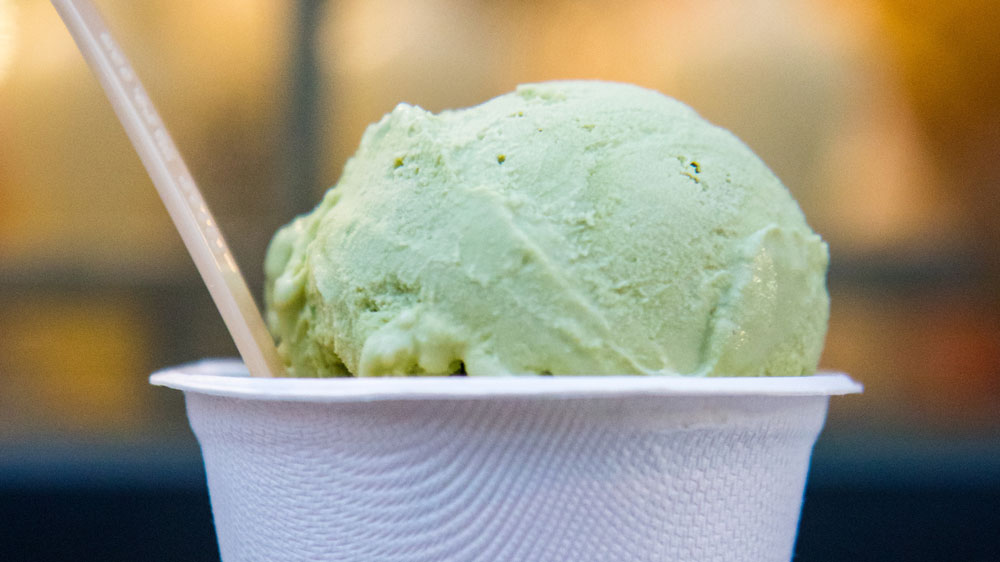 Local Ice Cream Shop Names Flavor For CEDARS