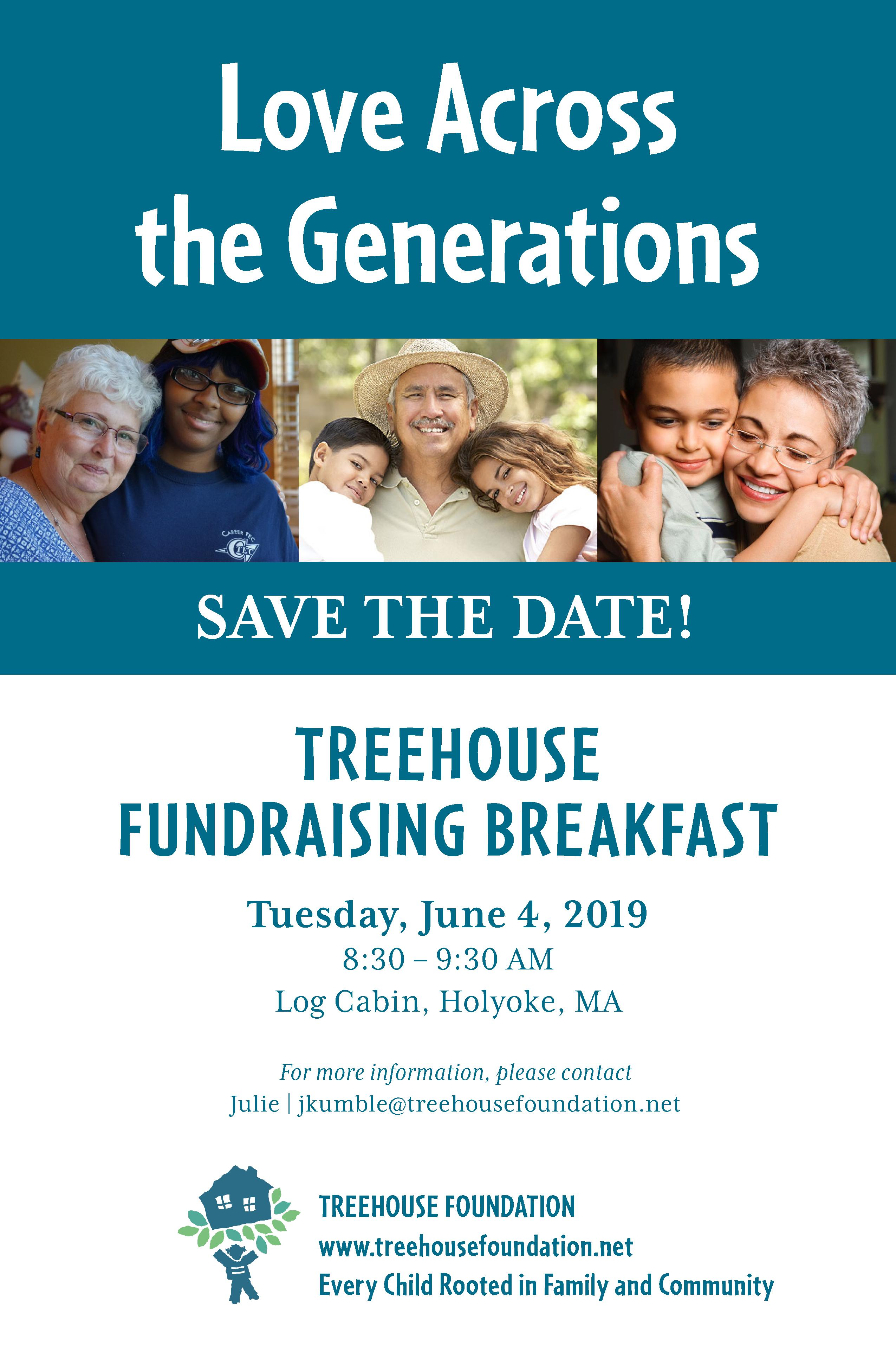 Love Across the Generations Spring Fundraising Event
