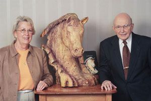 A Gift Blending Equestrian Art and History