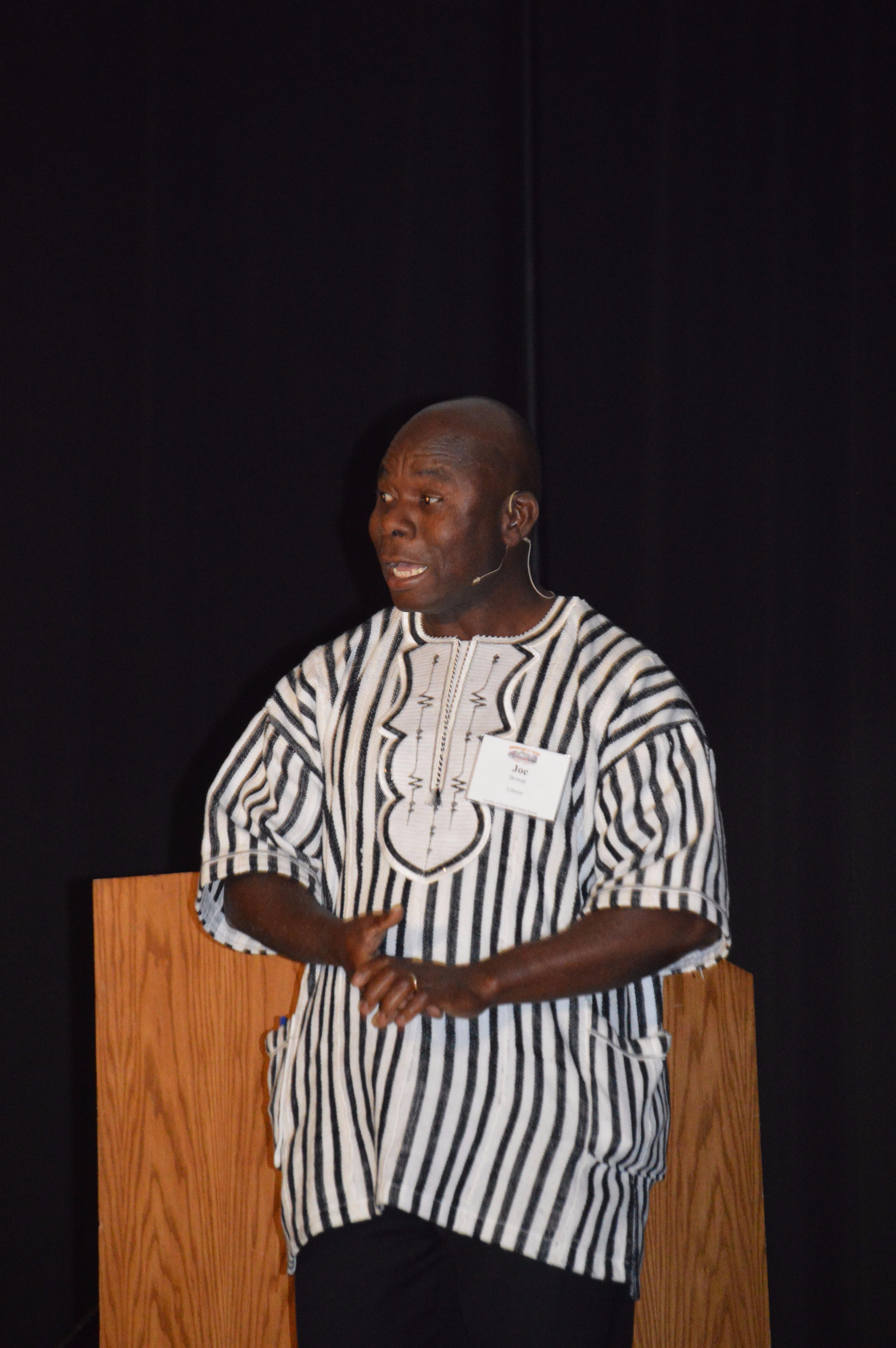 Joe Boway - Liberia