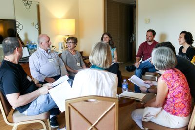 Couples learn and grow through the Marriage Enrichment Groups at the NCF Counseling and Member Care Seminar.