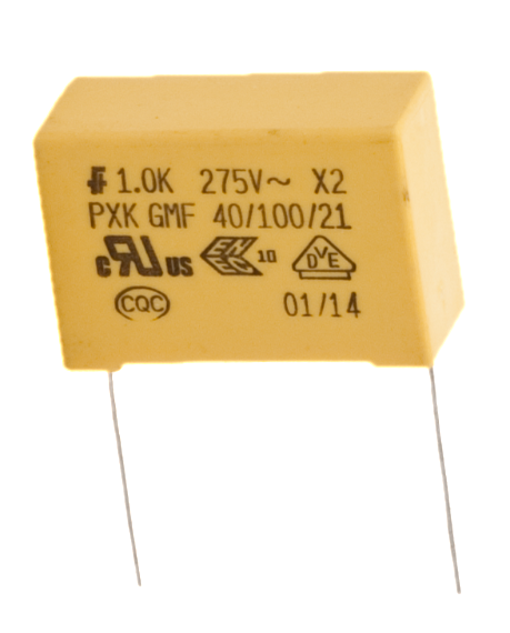 ASC Capacitors : Full Product List : X-2 Noise Suppression