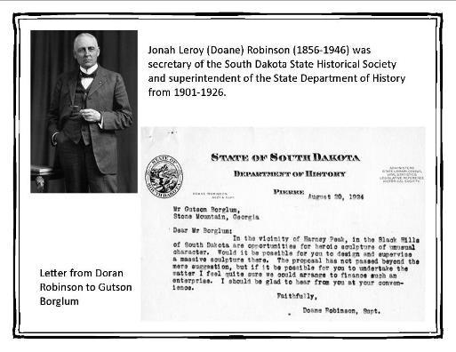 Correspondence of Doane Robinson added to South Dakota Digital Archives