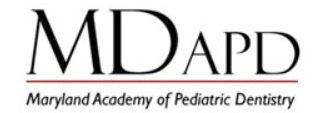 Maryland Academy of Pediatric Dentistry