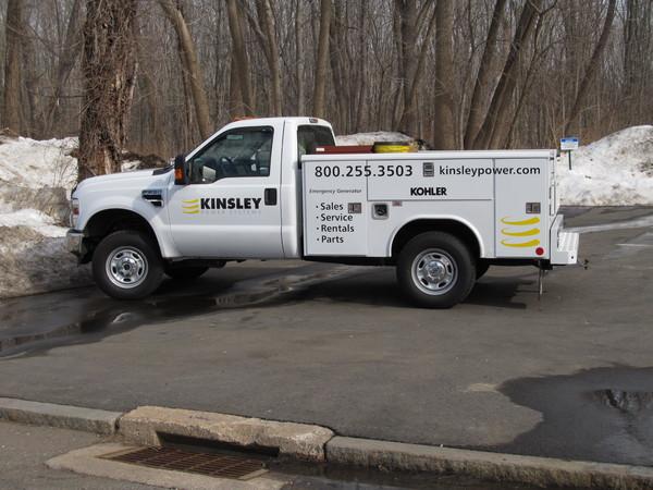 Fleet Graphics, Utility Truck Lettering & Logo Graphics
