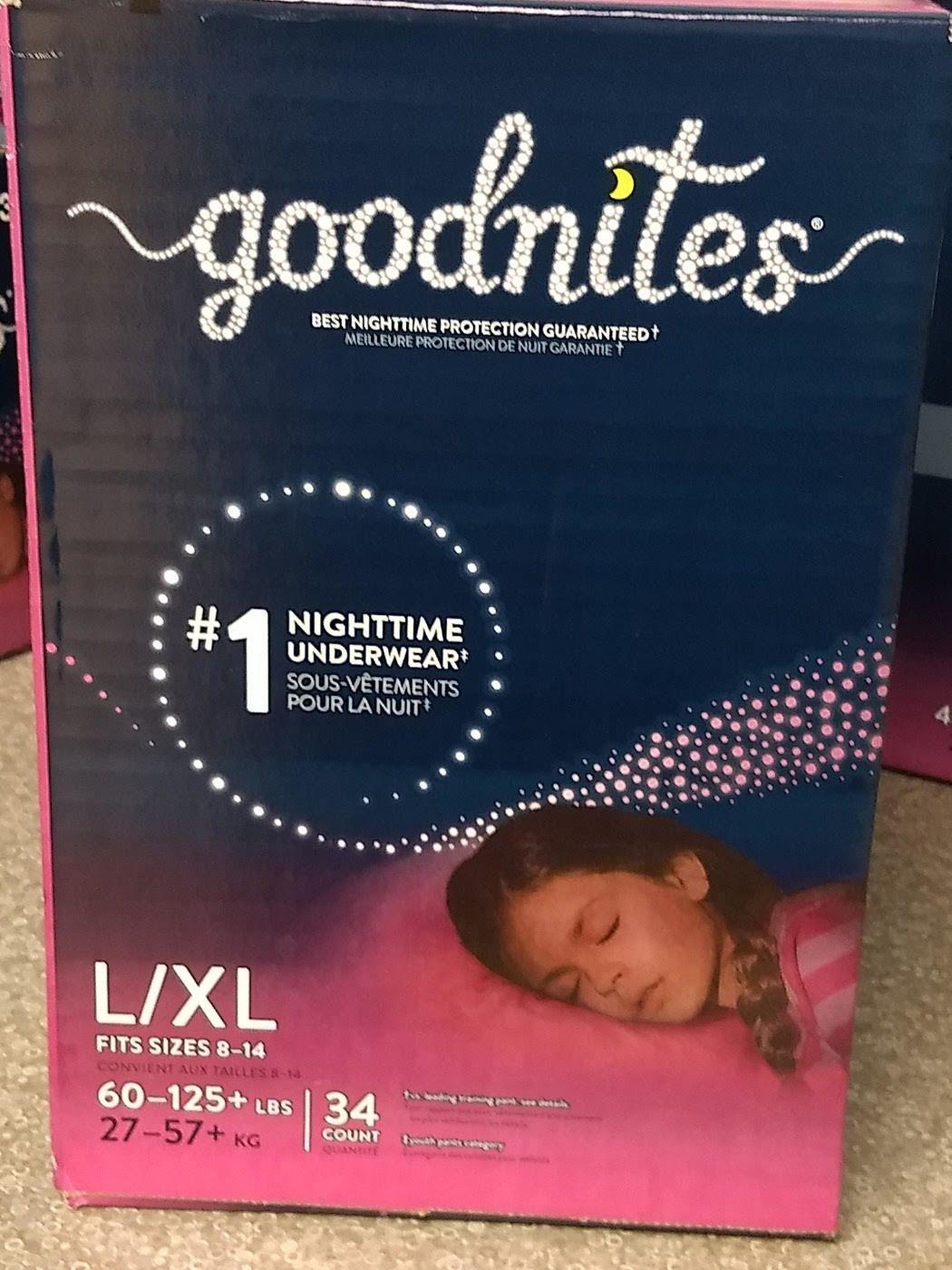GoodNites Girls L-XL