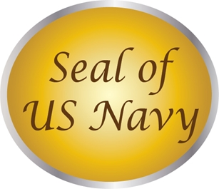 JP-1000 - Carved Plaques  of the Great Seal of the US Navy