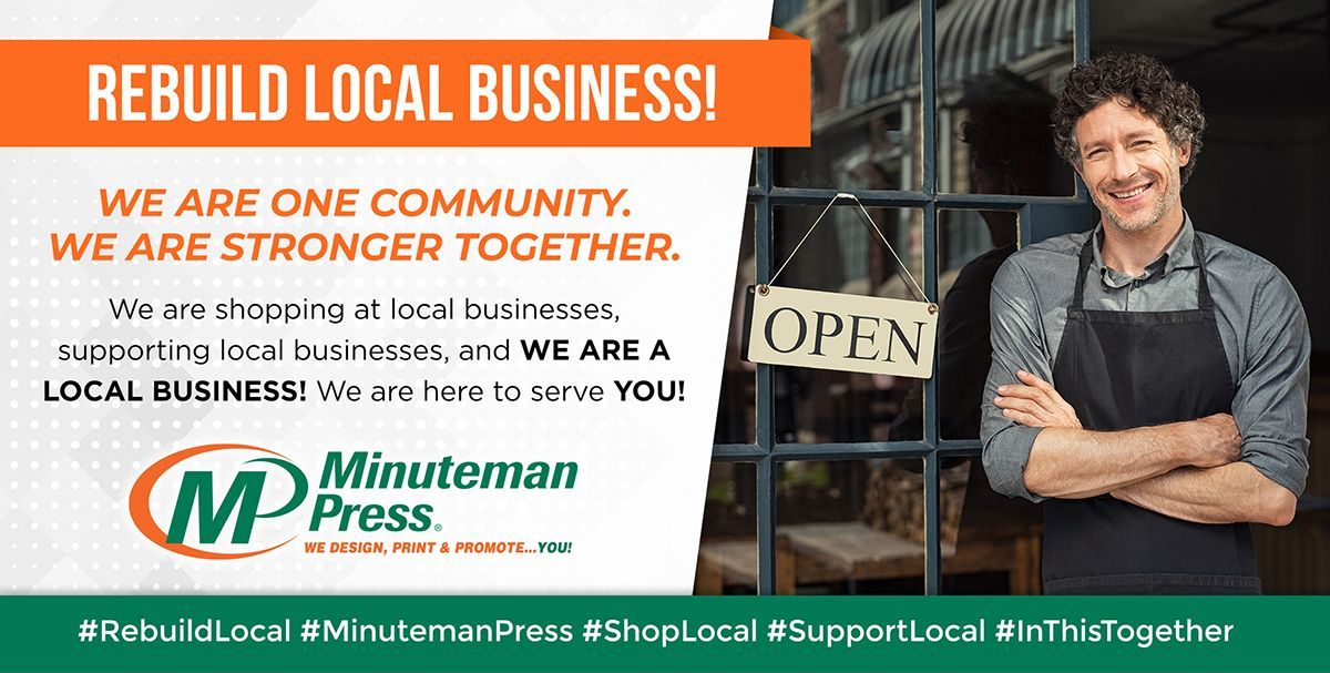 Minuteman Press Champaign is working together with other local businesses to help establish and grow their brands through innovative graphic design, printing, and promotional products. Call us at 217-355-0500 to request an estimate.