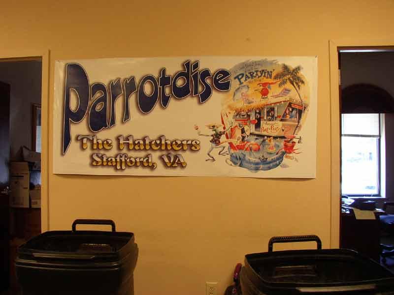 Parrotdise Banner